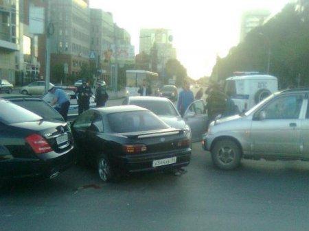 Богатая на ДТП суббота 18 августа: замес из 5-ти авто в центре, в области двое человек погибло