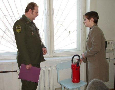 Противопожарная подготовка Новосибирских школ пройдена на отлично