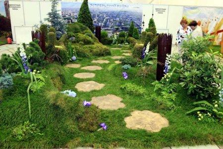 Большую золотую медаль в конкурсе «Город-сад. Цветы, сады и парки Сибири – 2012» получил Железнодорожный район