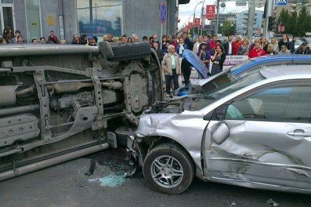 ДТП в центре Новосибирска парализовало движение на несколько часов