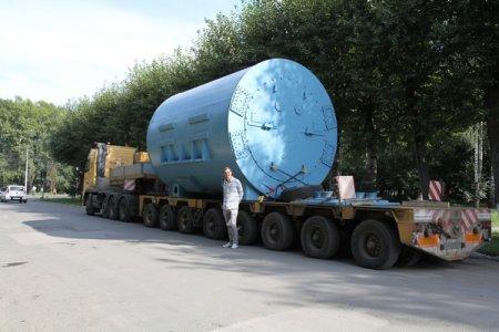 «ЭЛСИБ» отправил огромный турбогенератор на Ижевскую ТЭЦ-1