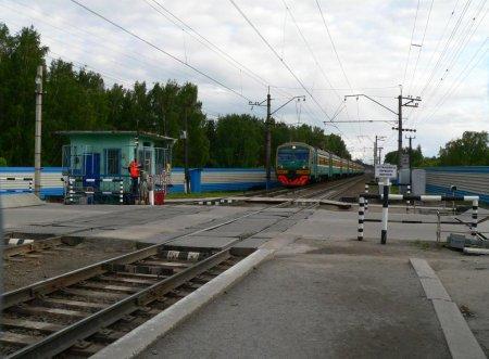 В Новосибирске на три дня перекрывается движение через «Матвеевский» переезд
