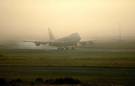 Из за тумана в «Толмачёво» прибывающие рейсы отправлены в другие города Сибири