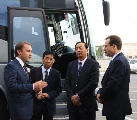 Министры транспорта России и Китая прибыли с рабочим визитом в Новосибирск