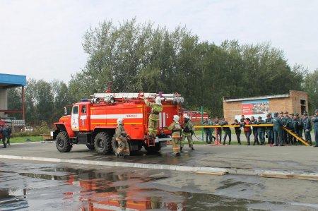 На соревновании пожарных частей Новосибирской области победила ПЧ-37 из Краснообска