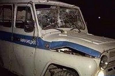 Полицейские из ОП «Усть-Таркский» совершили ДТП приследую похитителей лошадей