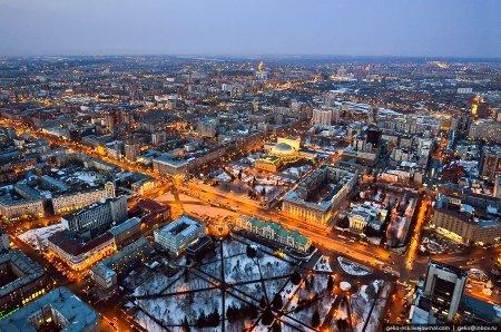 В Новосибирске разрабатывают проект уникальной вечерне-городской подсветки