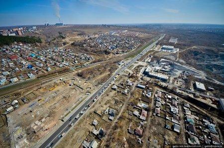 Проезжую часть Большевистской в районе транспортной развязки третьего моста увеличат на 25 метров