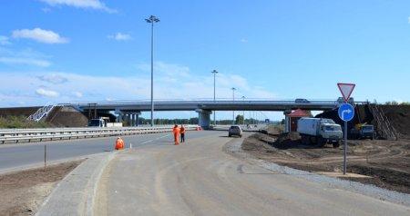 Развязку на «Советском шоссе» в районе п. Краснообск откроют в Сентябре 2012 года