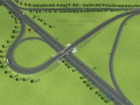 Первые автомобили сегодня проехали по новой развязке на «Советском шоссе» в районе поселка Краснообск