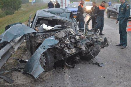 Страшное ДТП на М-51 в районе поселка Павино унесло жизни двух человек [18+]