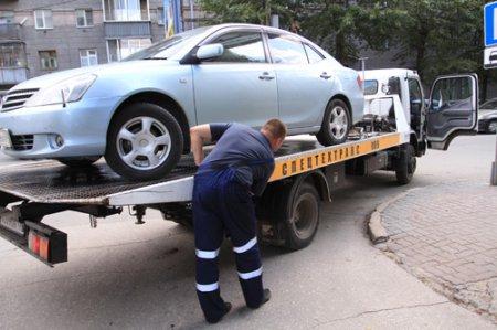 Тарифы за эвакуацию машин на штрафстоянки в Новосибирске прокуратура сочла незаконным