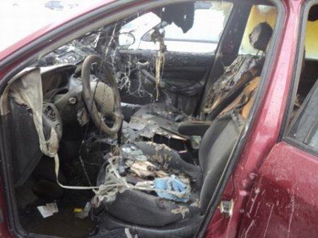И снова в Новосибирском академгородке горят автомобили