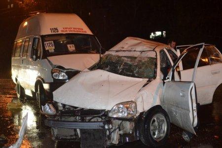 В Новосибирске снова маршрутка попала в ДТП, один человек погиб