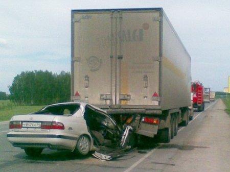 На трассе М-51, в НСО столкнулись сразу восемь автомобилей