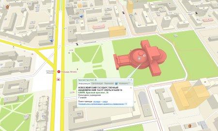 Интересные и примечательные здания Новосибирска в справочнике 2ГИС обретают новый 3D облик