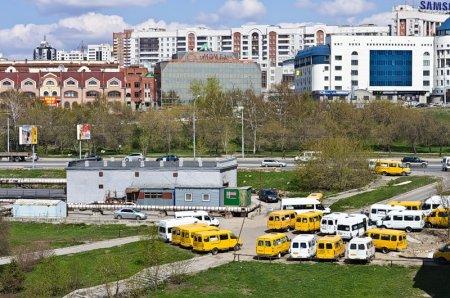 Маршрутное такси 1048 в Новосибирске, теперь будет ходить по ул.Гоголя