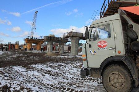 Строительство развязки на ул. Большевистская идёт точно в срок