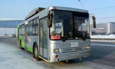 Троллейбус на батарейках уже в Сибири!