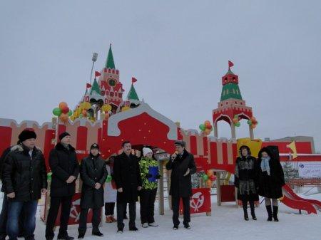 Детская игровая площадка «Кремль» открылась в Новосибирске
