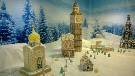 В Новосибирске открывается выставка «Снежный пряничный городок»