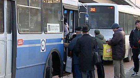 Численность единиц общественного транспорта в праздничные дни будет сокращено