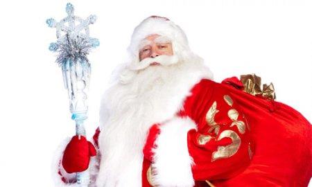 Дед Мороз приехал в Новосибирск