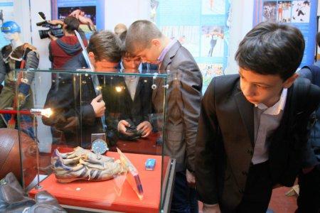 В Новосибирске открылась выставка «Спортзал в музее»