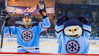 На своей площадке «Сибирь» всухую переиграла финский «Йокерит»