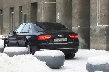 В Новосибирске оштрафовали водителя мэра