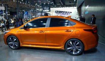 В Новосибирске презентовали новую версию Hyundai Solaris