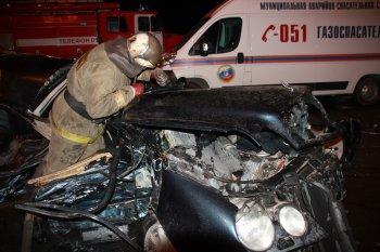 Ночное ДТП в Новосибирске унесло жизни четырех людей